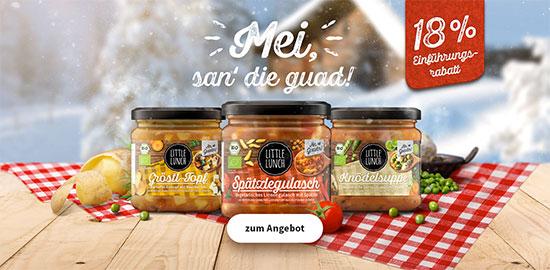 Suppen Hüttenschmankerl Little Lunch Deal Rabatt Suppen Sparen