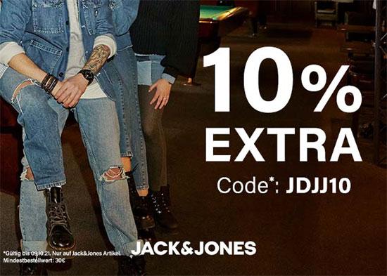 Gutschein Jack&Jones Kleidung Klamotten Rabatt